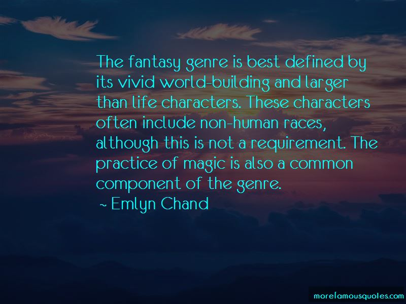 Fantasy Genre Quotes Pictures 2
