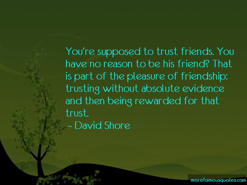 Friendship Without Trust Quotes Pictures 3
