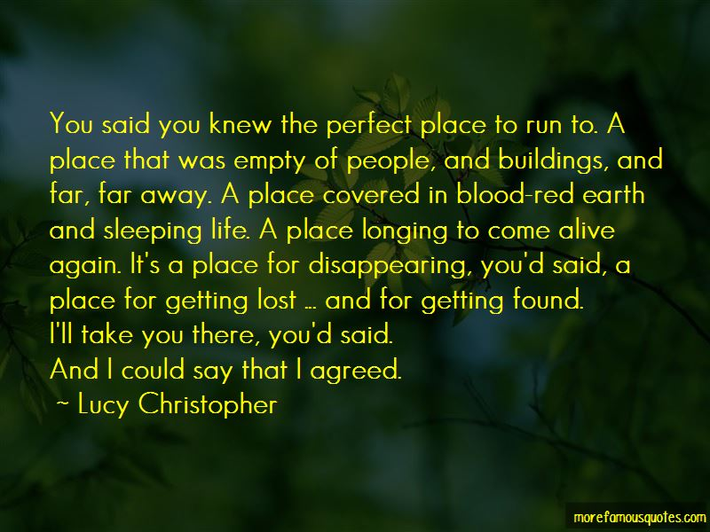 Getting Far Away Quotes Pictures 4