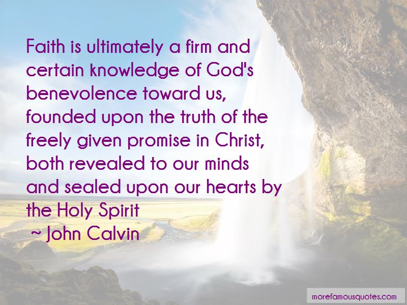 Quotes About God's Benevolence