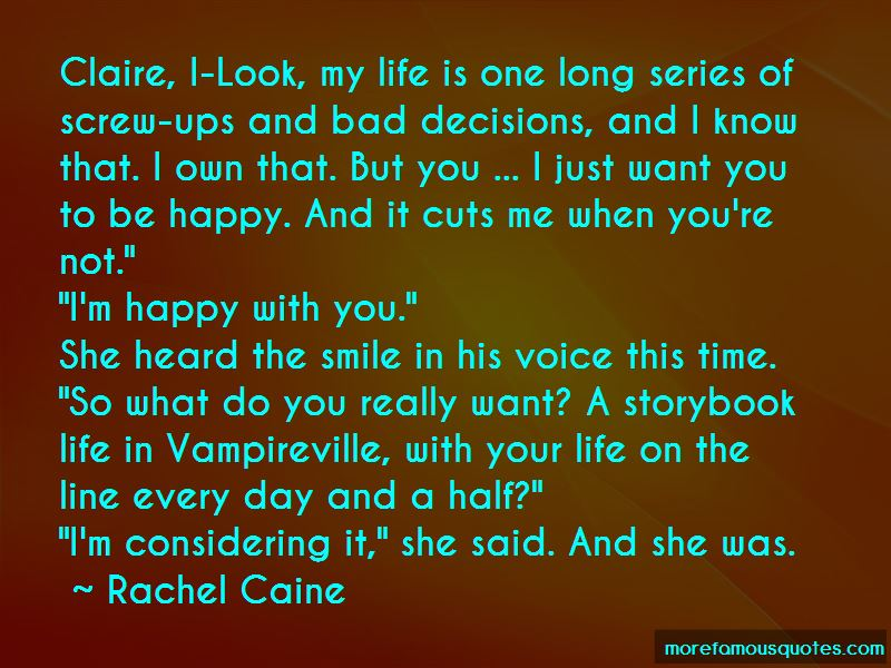 Quotes About I'm Happy With You
