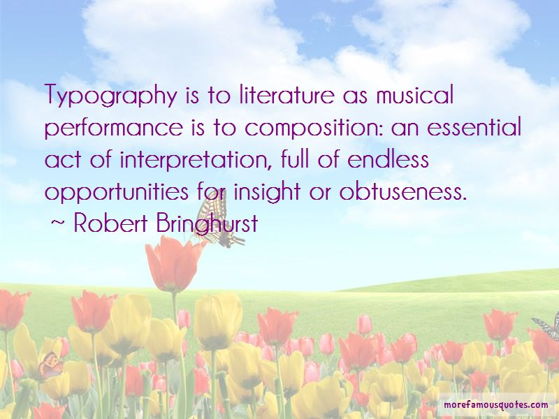 Quotes About Interpretation Of Literature