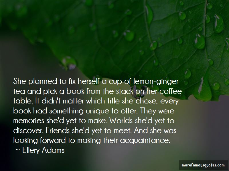 Quotes About Lemon Tea