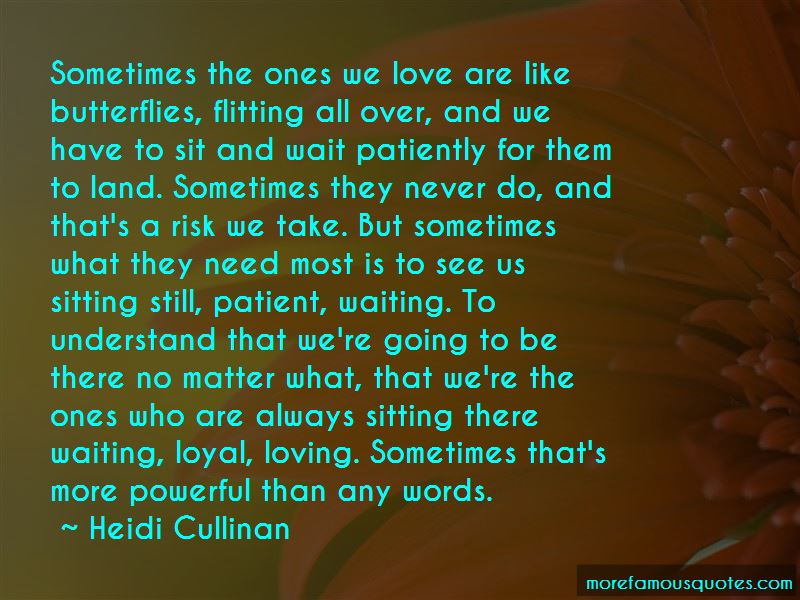 Loving Patiently Quotes Pictures 2