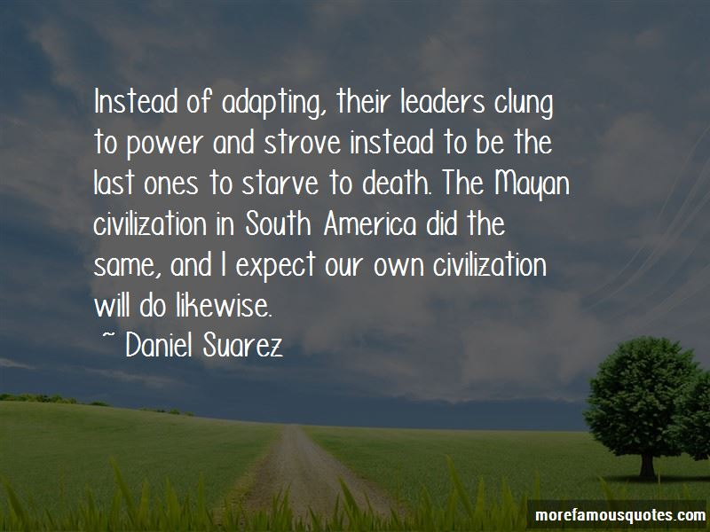Quotes About Mayan Civilization