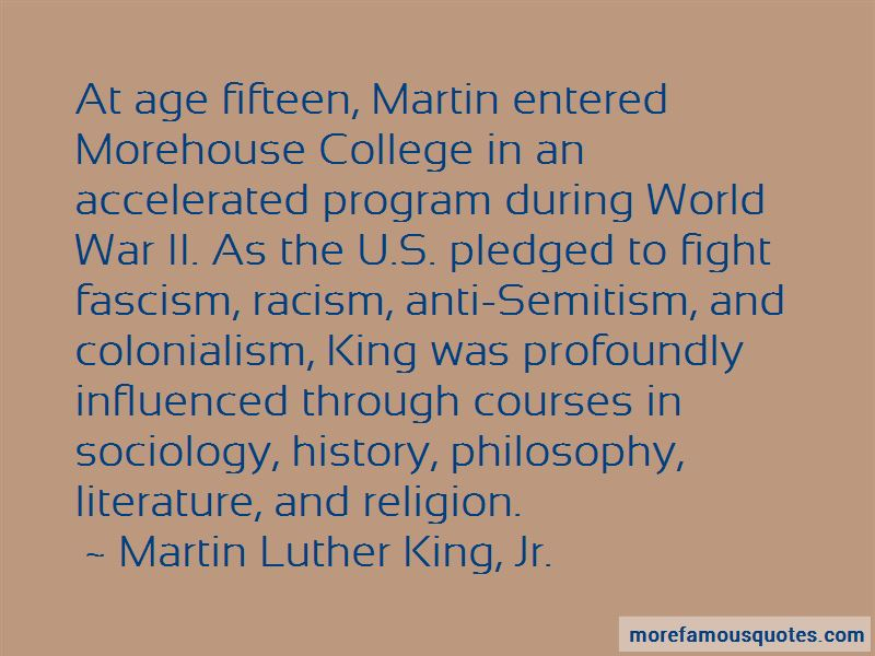 Quotes About Morehouse College