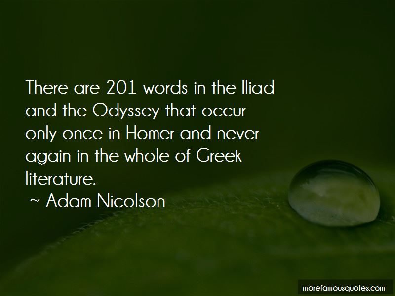 Quotes About Odyssey