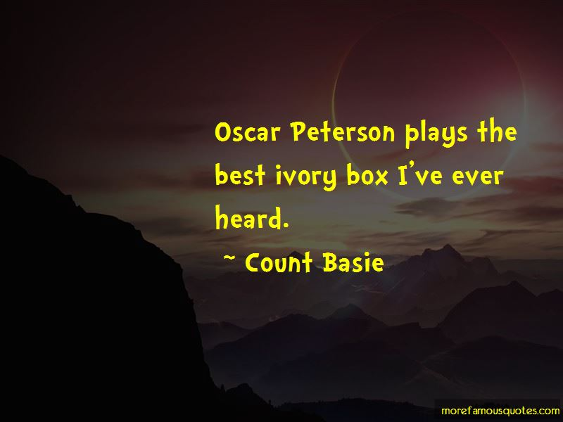 Oscar Peterson Quotes Pictures 2