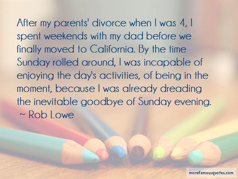 Quotes About Parents Divorce