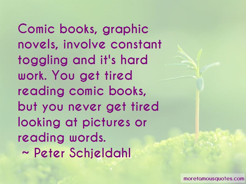 Quotes About Reading Comic Books