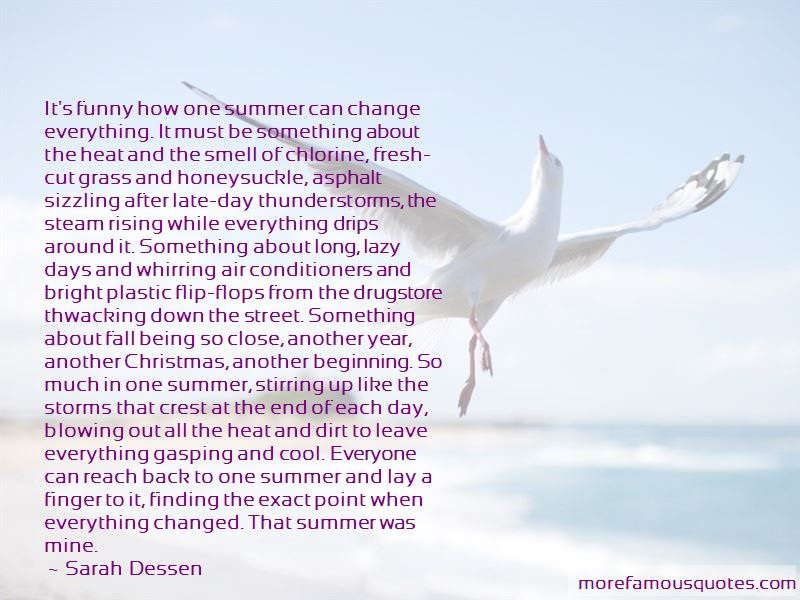 Quotes About The End Of Summer Funny