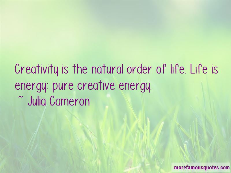 Quotes About The Natural Order Of Life