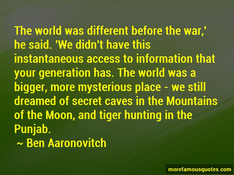 Quotes About Tiger Hunting