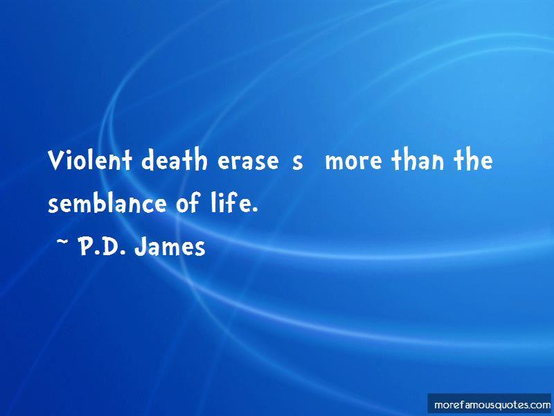 Quotes About Violent Death