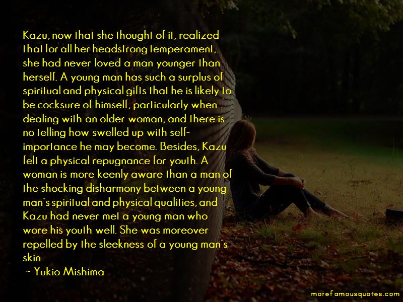 Quotes About Younger Man An Older Woman