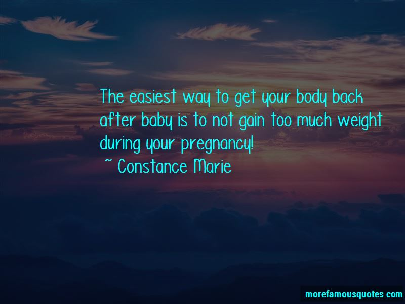 Quotes About Your Body After Pregnancy