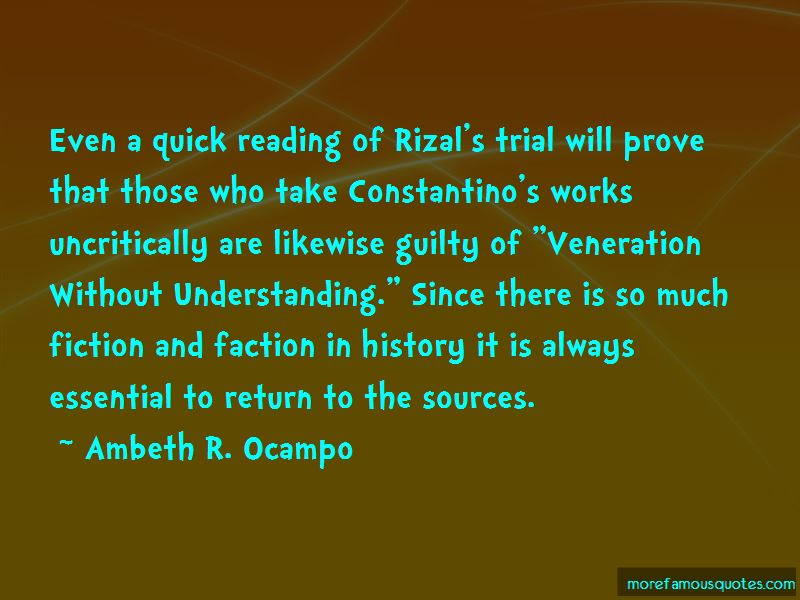 """rizal ambeth corpuz reaction paper Ventura, cleo ariana t column #9, seat """"articles by ambeth ocampo"""" (a reaction paper) 1) why rizal is the national hero- dr jose rizal is undoubtedly a conscious hero in a sense that it."""