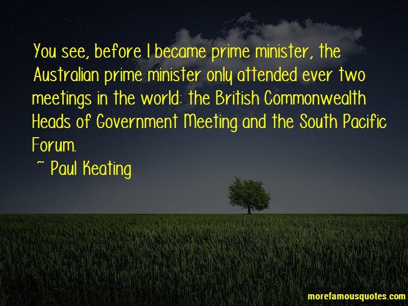 Australian Prime Minister Quotes