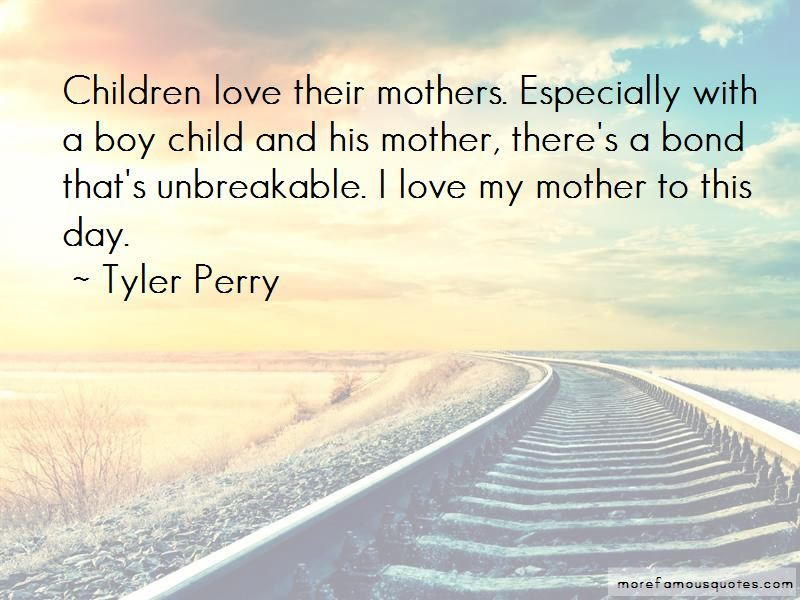 Boy And Mother Quotes