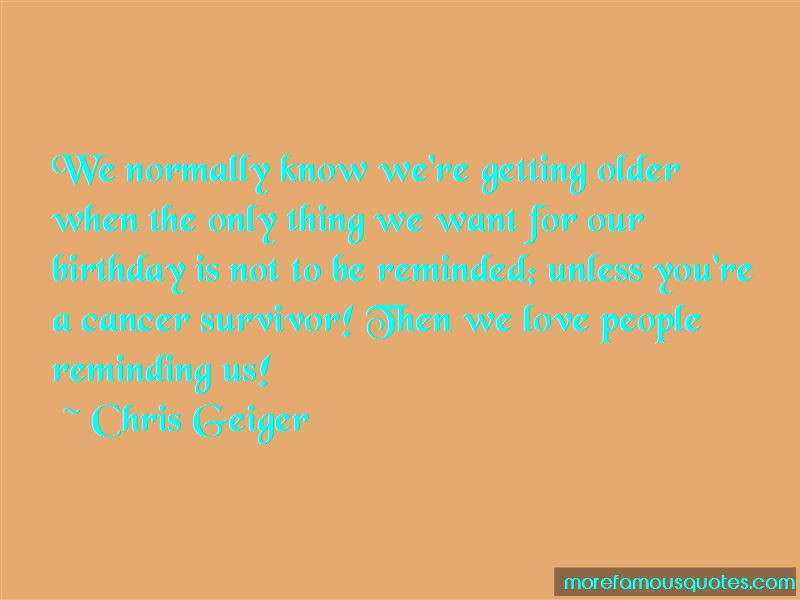 Cancer Survivor Birthday Quotes