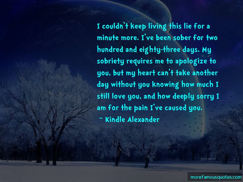 Deeply Sorry Love Quotes Pictures 3
