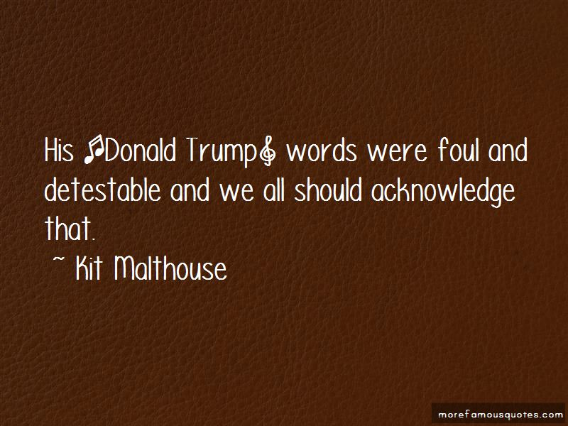 Detestable Quotes
