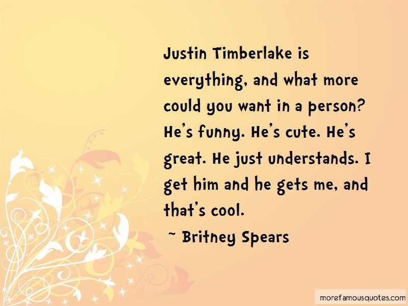Funny Justin Timberlake Quotes