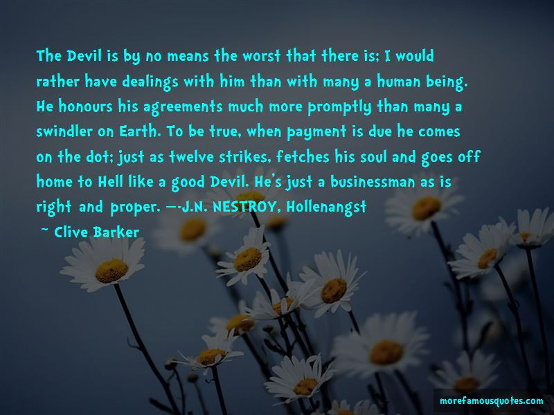 Good Devil Quotes