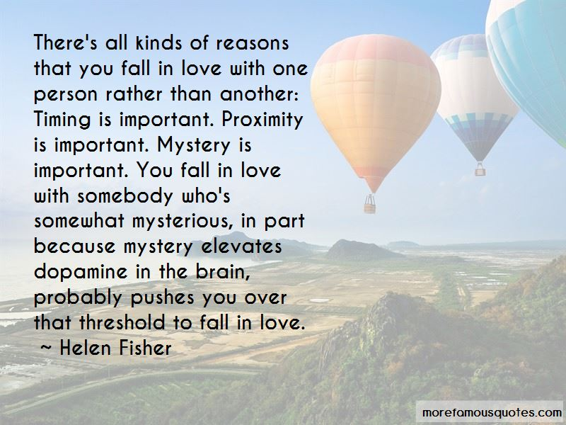 In Love With One Person Quotes