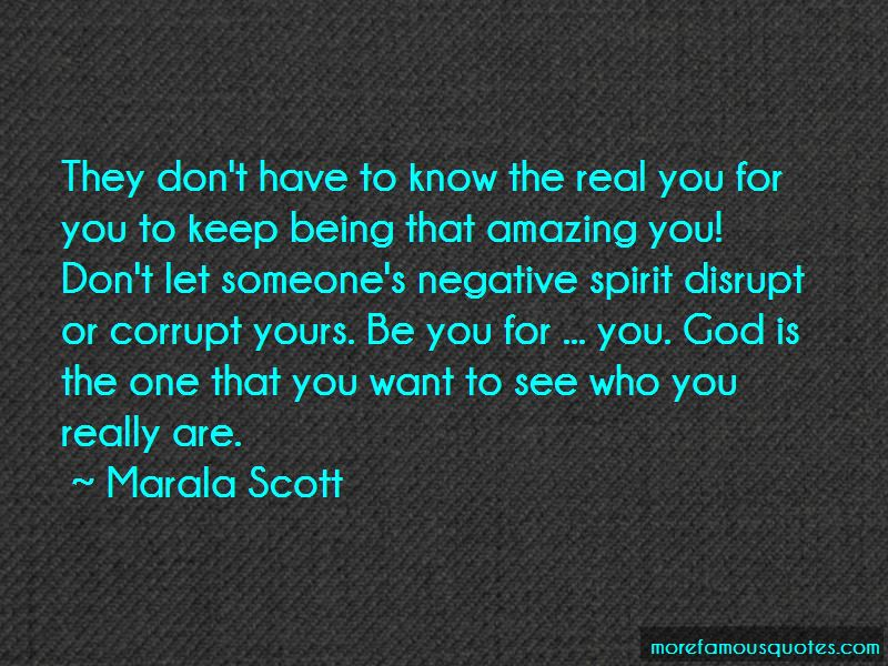 Know The Real You Quotes