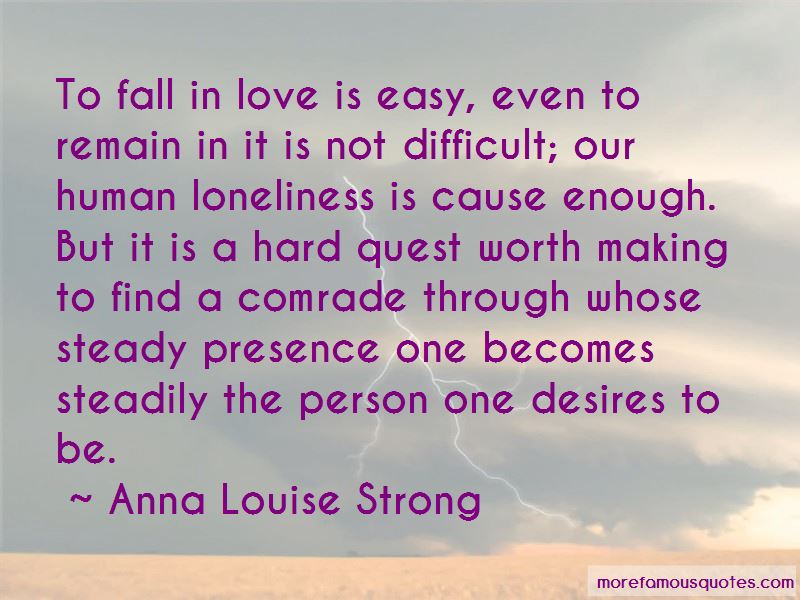 Love Is Not Easy To Find Quotes Pictures 3