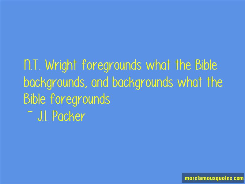 Nt Wright Quotes