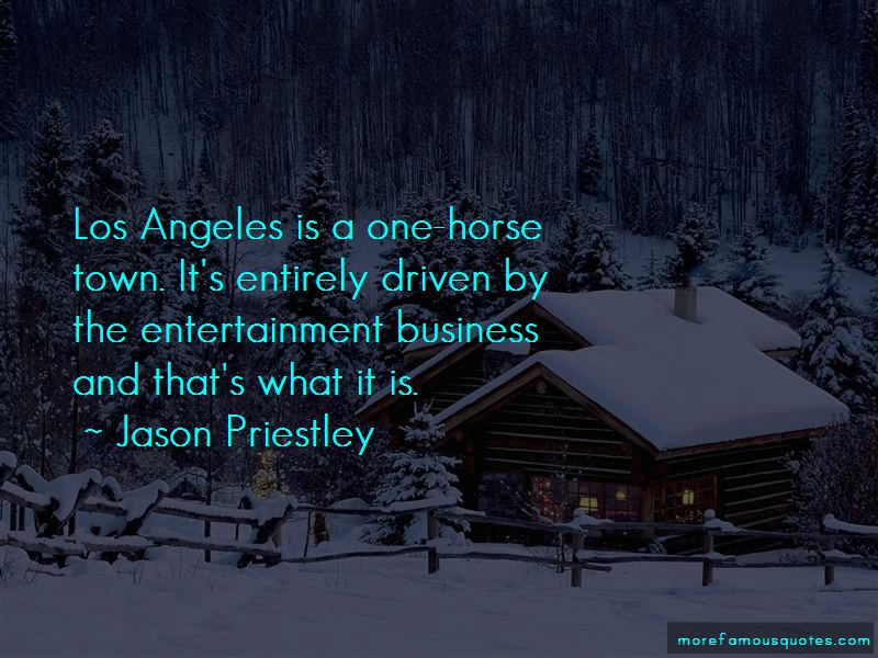 One Horse Town Quotes