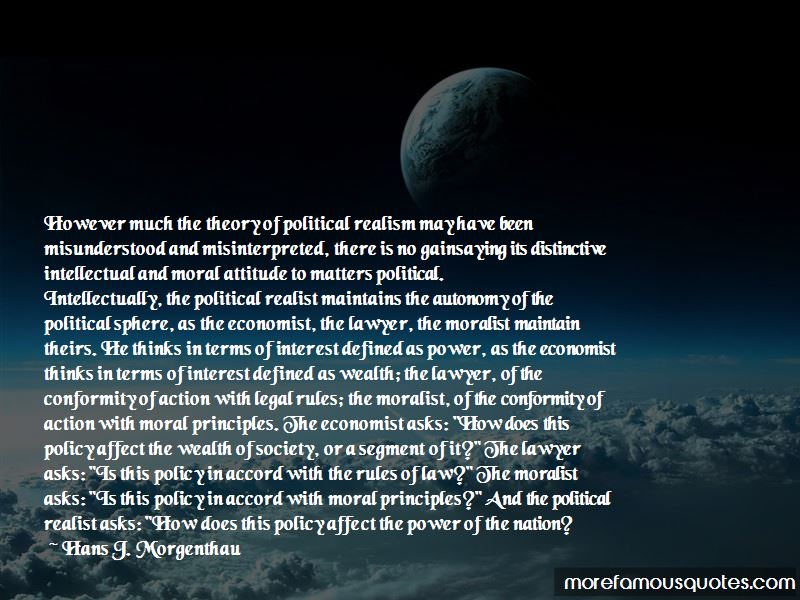 Political Realist Quotes
