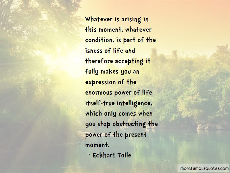 Accepting The Present Moment Quotes Pictures 2