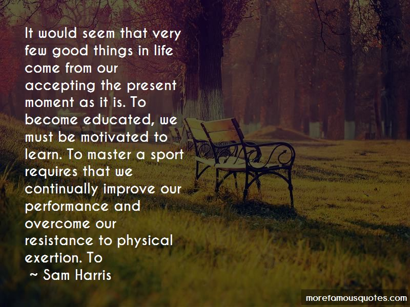 Quotes About Accepting The Present Moment