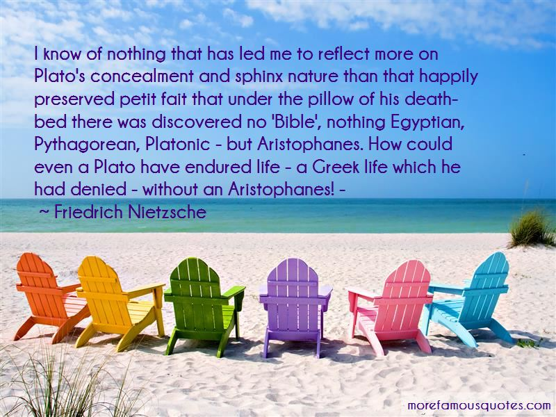 Quotes About Aristophanes