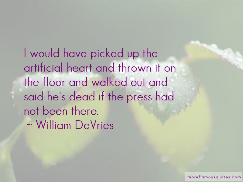 Quotes About Artificial Heart