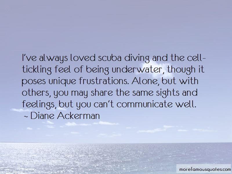 Being Underwater Quotes Pictures 3