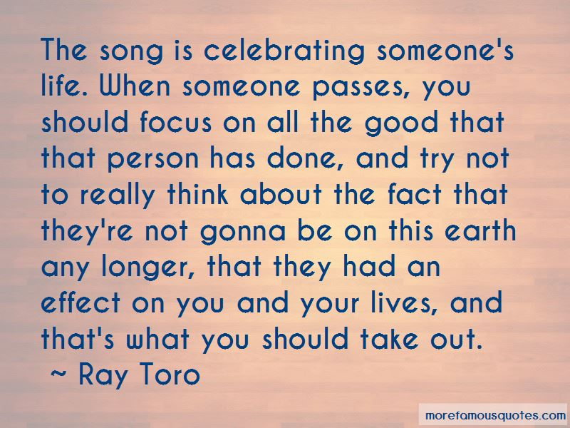 Quotes About Celebrating Someone's Life
