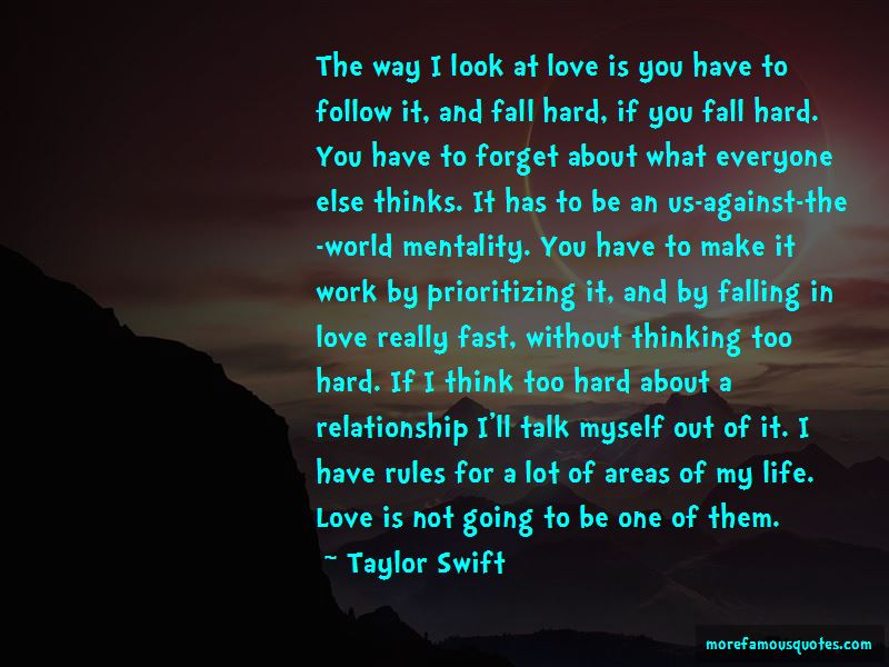 Falling Too Fast In Love Quotes Pictures 2