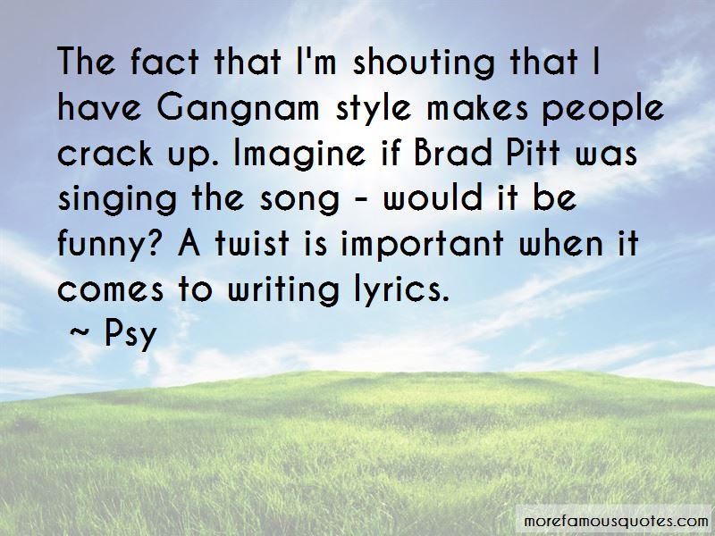 Quotes About Gangnam Style