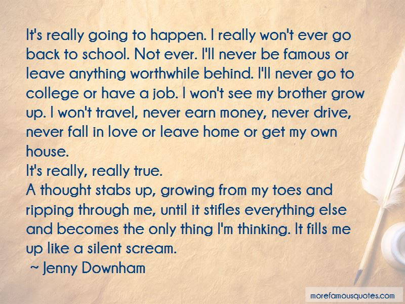 Quotes About Going Back To School In The Fall