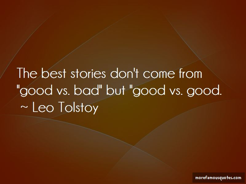 Quotes About Good Vs Bad