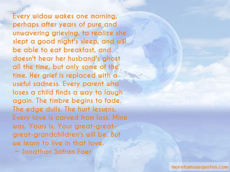 Quotes About Grieving The Loss Of A Child