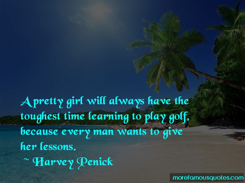 Learning To Play Golf Quotes Pictures 2