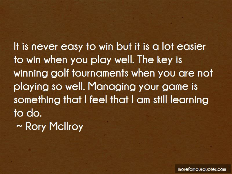 Learning To Play Golf Quotes Pictures 3