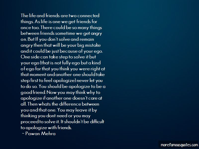 Quotes About Life And Friends