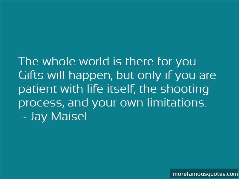 Quotes About Limitations On Life
