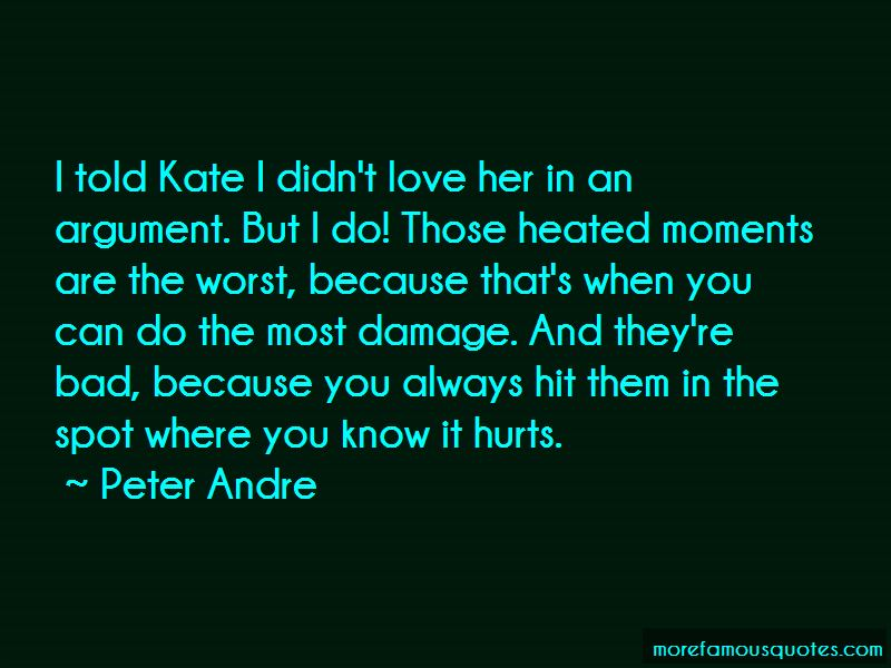 Quotes About Love When It Hurts